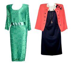 зеленое платье и черно-красный женский костюм в Геленджике — купить в ДЛЯ МИЛЫХ ДАМ.jpg