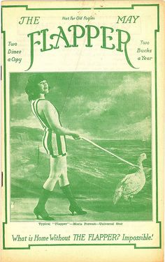The Flapper Magazine with Marie Prevost 1922