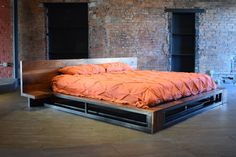 Pemberton Bed by SouthLoft on Etsy