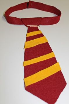 1000 images about no sew harry potter house tie on for Harry potter tie template