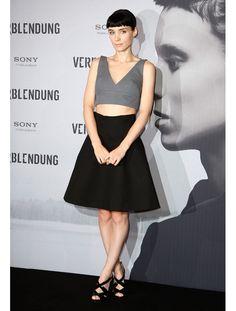 Le look de Rooney Mara en 2012