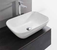 Bauhaus Gallery Serene 580mm Countertop Basin Without Overflow - CT0234UCW