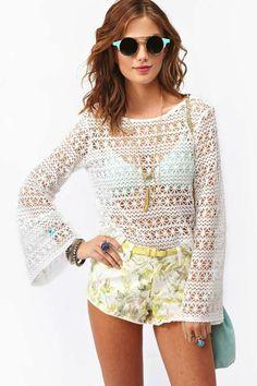 Louisa Crochet Top