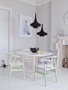 Decoración en tonos pastel para todo tu hogar y en diversos estilos decorativos...