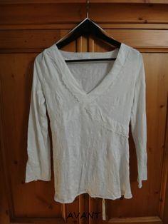 Chemisier blanc / vêtements / mode