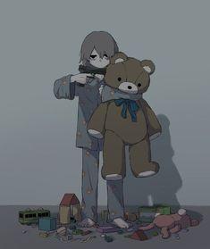 Some of them are not needed . Dark Art Illustrations, Illustration Art, Sad Anime, Anime Guys, Image Triste, Desenhos Halloween, Sun Projects, Anime Triste, Vent Art