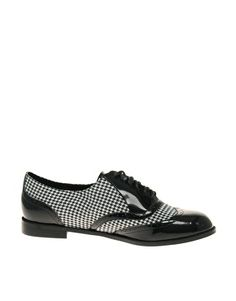 ASOS MISTER DOGTOOTH Brogue Online Shopping Clothes 6f3079848bc95