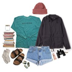 """seaside adventure"" by jmhunter on Polyvore"