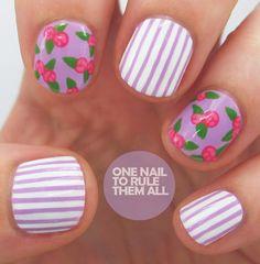 Manicure de rosas y lilas... me lo haré??
