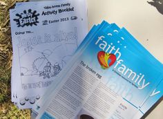 Dapto Messy Church - take home activity sheets and Faith Family info sheets (Easter Easter 2013, Jesus Is Alive, Broken Egg, Home Activities, Ministry Ideas, Activity Sheets, Leadership, Faith, Training