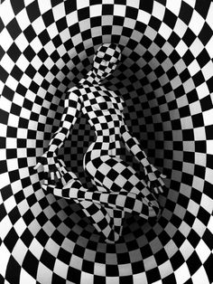 """© danilo martinis """"₠"""" art photography manipulation i Optical Illusions Pictures, Illusion Pictures, Cool Illusions, Creation Photo, Illusion Art, Art Graphique, Black And White Pictures, Psychedelic Art, Grafik Design"""