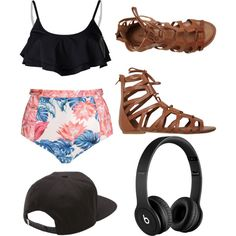 Untitled #279 by carmentirado on Polyvore featuring polyvore, fashion, style, We Are Handsome, Radio Fiji, O'Neill, Vans and Beats by Dr. Dre
