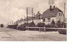 Valby Villakvarter med lokomotiv  1909