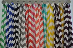 Chevron Infinity Scarf in Soft Jersey Knit by ChickSprings on Etsy, $28.00