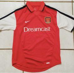 Vintage NIKE Arsenal Soccer Jersey