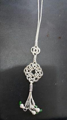 Jewelry Knots, Diy Jewelry, Beaded Jewelry, Handmade Jewelry, Jewelry Making, Bone Jewelry, Metal Jewelry, Knot Necklace, Crochet Necklace