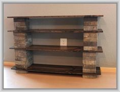 Build Your Own Bookcase Headboard