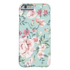 Cottage Floral Pattern iPhone 6 Case
