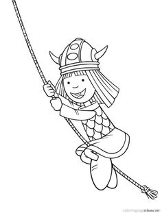 Wicky the Viking Coloring Pages 29