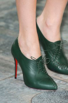 CHRISTIAN LOUBOUTIN {Mary Katrantzou Fall 2012}