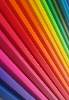 Cool. Colored pencils.