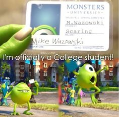 Monsters University #DisneyInfinity  I feel like that now