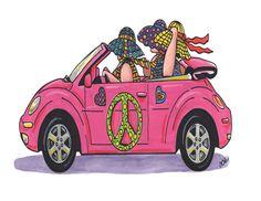 Carolyn Stich created a series of The Girls by carolynstichstudio, $4.00