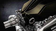 Honda F1 パワーユニット 最新映像