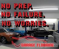 How to install roll on rock garage floor coating from for Versatile garage floors