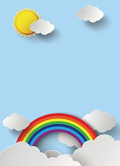 Discover recipes, home ideas, style inspiration and other ideas to try. Rainbow Background, Theme Background, Background Images, Cute Wallpapers, Wallpaper Backgrounds, Iphone Wallpaper, Diy And Crafts, Crafts For Kids, Powerpoint Background Design
