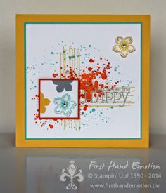 Stampin' Up! by First Hand Emotion: IN{K}SPIRE_me Challenge #143: Frühlingsfarben