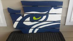 Check out this item in my Etsy shop https://www.etsy.com/listing/243635009/washington-state-seahawk-sign-made-from