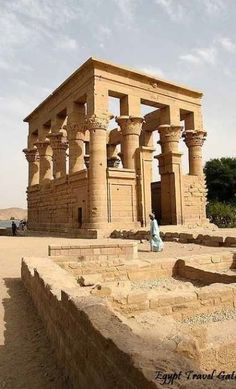 Philae temple of Goddess Isis in Aswan, Egypt., from Iryna