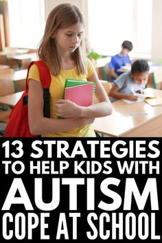 Autism in the Classroom | 13 tips to help make teaching kids with learning delays like autism and sensory processing disorder easier. Perfect for teachers and parents, we're sharing our favorite behavior management products and ideas to manage school anxiety and foster a positive learning environment for students with special needs like ASD as well as their NT peers. #anxiety #mentalhealth #autism #ASD #specialneeds #backtoschoolanxiety #schoolanxiety