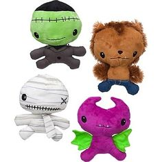 Love these Big Head Monster toys from #KristenTercek. Our fave? The werewolf in jeans sans shirt.