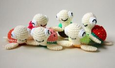 Amigurumi turtle - free crochet pattern