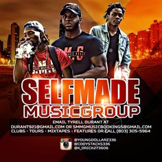 Self Made Music Group Flyer designed by Graphicwind For more info: web: www.graphicwind.com or please email us to graphicwind@gmail.com ‪#‎graphicwind‬ ‪#‎PartyFlyer‬ ‪#‎LoungeFlyer‬ ‪#‎ClubFlyer‬ ‪#‎Bash‬ ‪#‎HipHopFlyer‬ ‪#‎Lounge‬ ‪#‎ClubMix‬ ‪#‎MixtapeFlyer‬ ‪#‎Birthday‬ #PartyFlyer ‪#‎Atlanta‬ ‪#‎R‬&b ‪#‎AfterParty‬ ‪#‎Mixtape‬ ‪#‎BirthdayBash‬ ‪#‎ArtistFlyer‬ ‪#‎FridayFlyer‬ ‪#‎Club‬ ‪#‎ConcertFlyer‬ ‪#‎FlyerDesign‬ ‪#‎Flyer‬ ‪#‎ArtistTourFlyer‬ ‪#‎rap‬ ‪#‎hiphop‬ ‪#‎party‬…