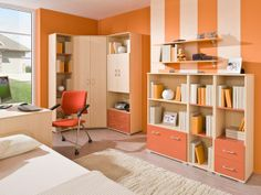 Kids study room furniture designs