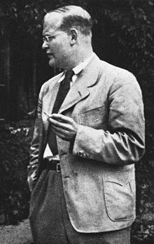 Dietrich Bonhoeffer, una teología sin Dios. mayo de 2016 [Imagen en Wikipedia]