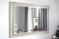 Lustro w sypialni #mirror #lustro #ikea