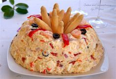 Cuina amb the mestressa: Cake potato salad and seafood Healthy Diet Recipes, Cooking Recipes, Gourmet Cooking, Tapas Dinner, Salty Foods, Tasty, Yummy Food, Cuban Recipes, Cold Meals