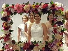 Flower frame by Signature Stories Bridesmaid Dresses, Wedding Dresses, Flower Frame, Diy Flowers, Easel, Baby, Fashion, Bridesmade Dresses, Bride Dresses