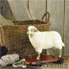 primitive sheep decor - - Yahoo Image Search Results