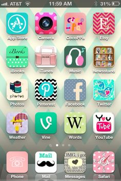 You Can Customize Your IPhone IPad Icons With The CocoPPa App This Is My