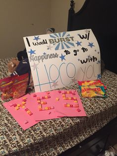 "I would ""burst"" with happiness to go to hoco (homecoming) with you Dance answers"