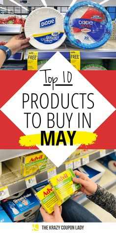 Top 10 Items to Stock up on in May Best Money Saving Tips, Saving Money, Things To Know, Cool Things To Buy, Discount Craft Supplies, Birthday Freebies, Money Magazine, Money Bags, Coupon Lady
