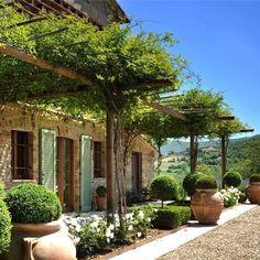 plantas jardim mediterraneo: Jardim Toscano no Pinterest