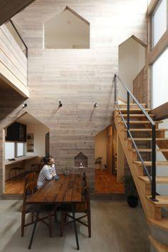 Дом для семьи в Японии