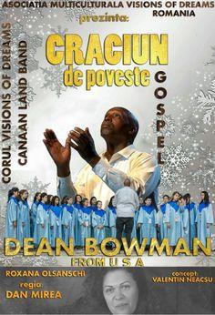 """Asociația Multiculturală """"Visions of Dreams"""" organizează în data de 21 decembrie 2017, începând cu ora 19, la Teatrul Municipal Traian Grozavescu Lugoj, un concert extraordinar de muzică gospel, cu…"""