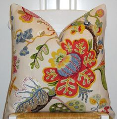 Beautiful Decorative Pillow Cover Throw by TurquoiseTumbleweed